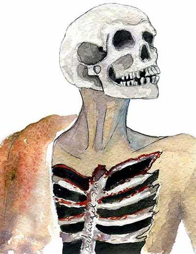 к снится скелет мужчины чему